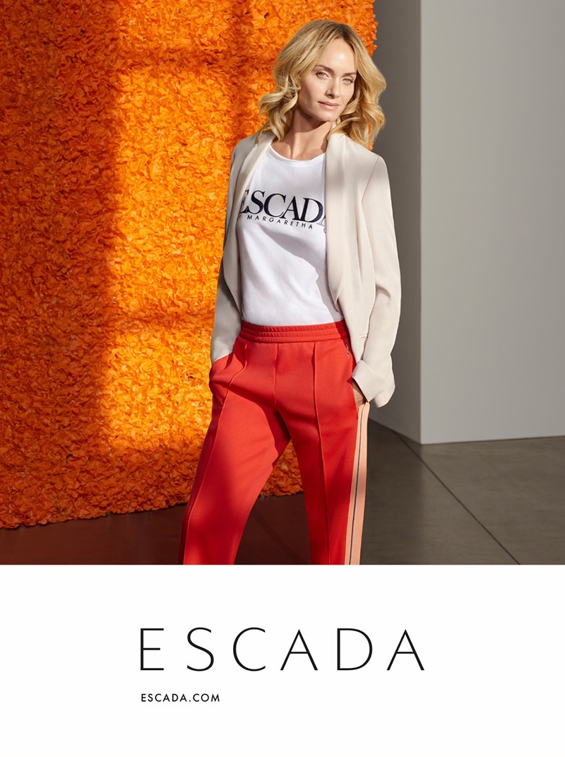 An image from Escada's spring 2018 advertising campaign