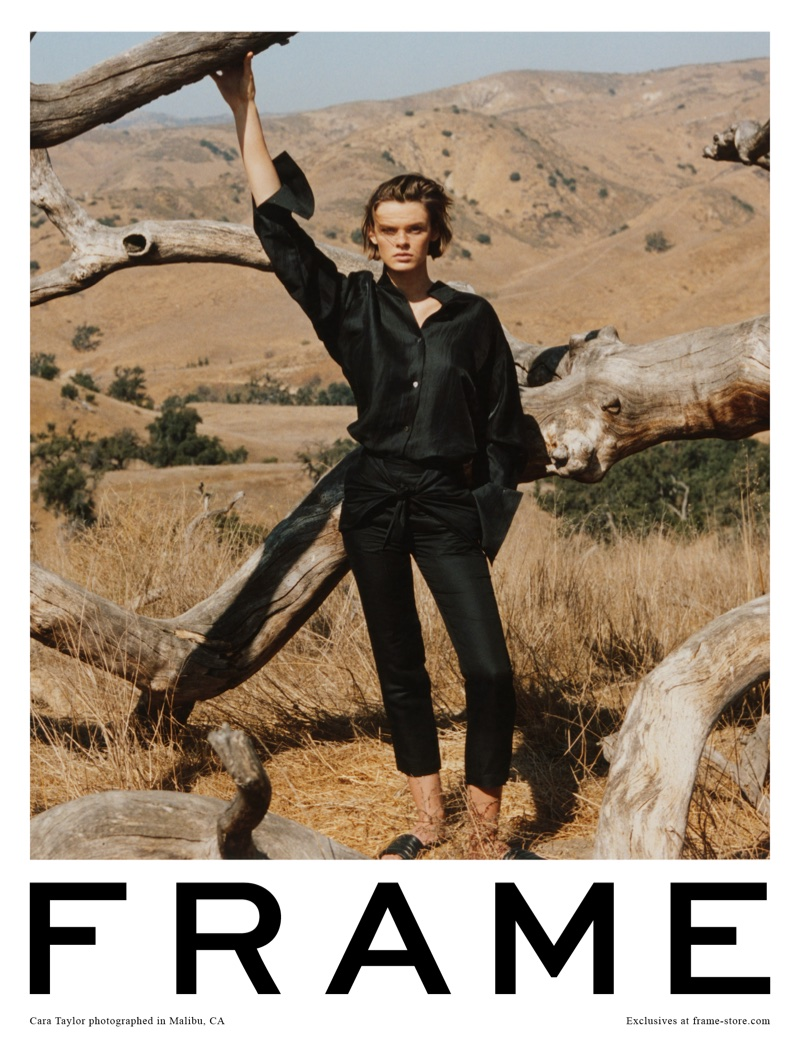 FRAME features chic separates in spring-summer 2018 campaign