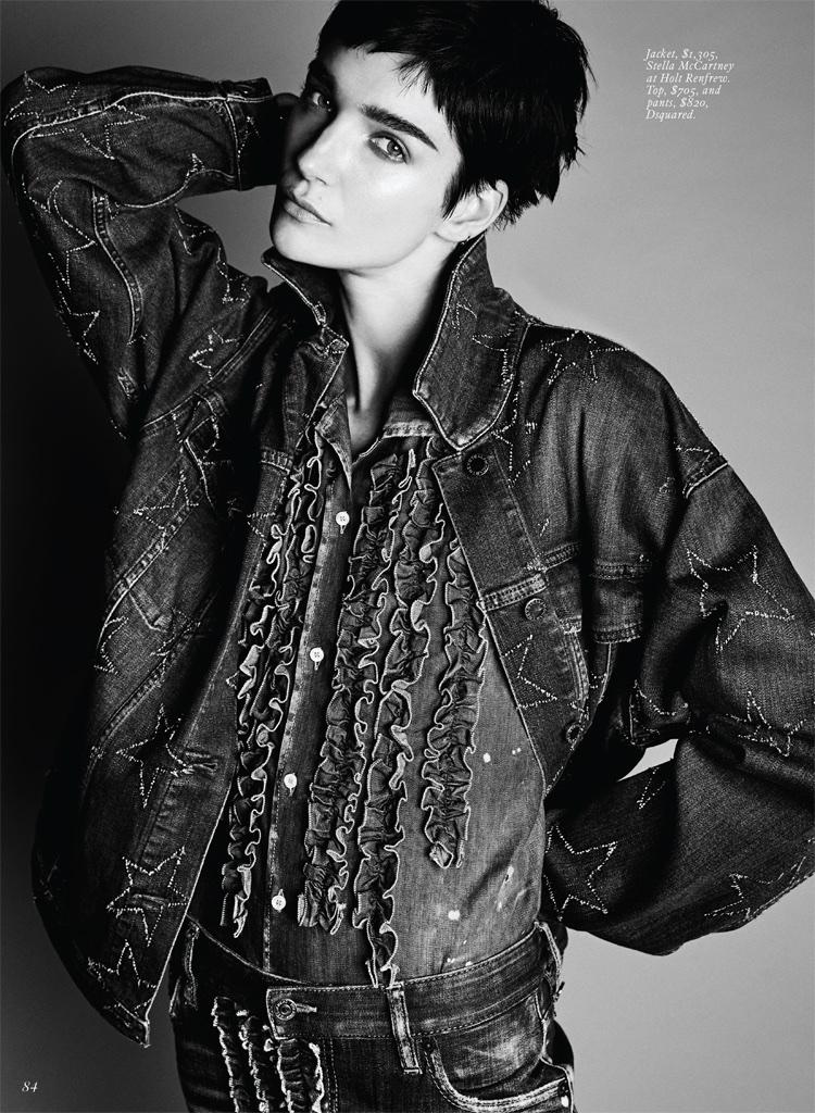Meghan Collison Amp Janice Alida 90 S Fashion Editorial