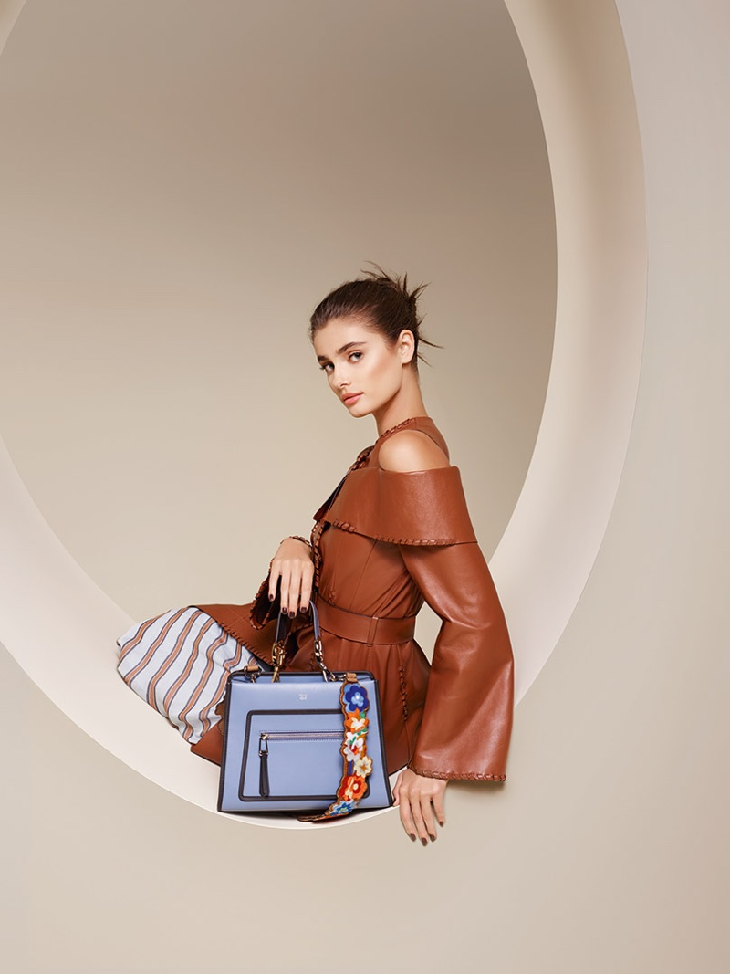 Fendi taps Taylor Hill for spring-summer 2018 campaign
