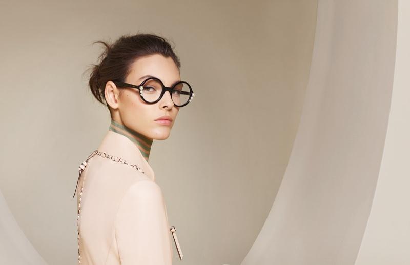 Vittoria Ceretti fronts Fendi eyewear spring-summer 2018 campaign