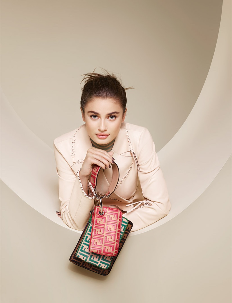 Taylor Hill fronts Fendi's spring-summer 2018 campaign