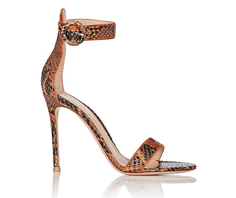 Gianvito Rossi Portofino Ankle-Strap Sandals $479 (previously $1,195)
