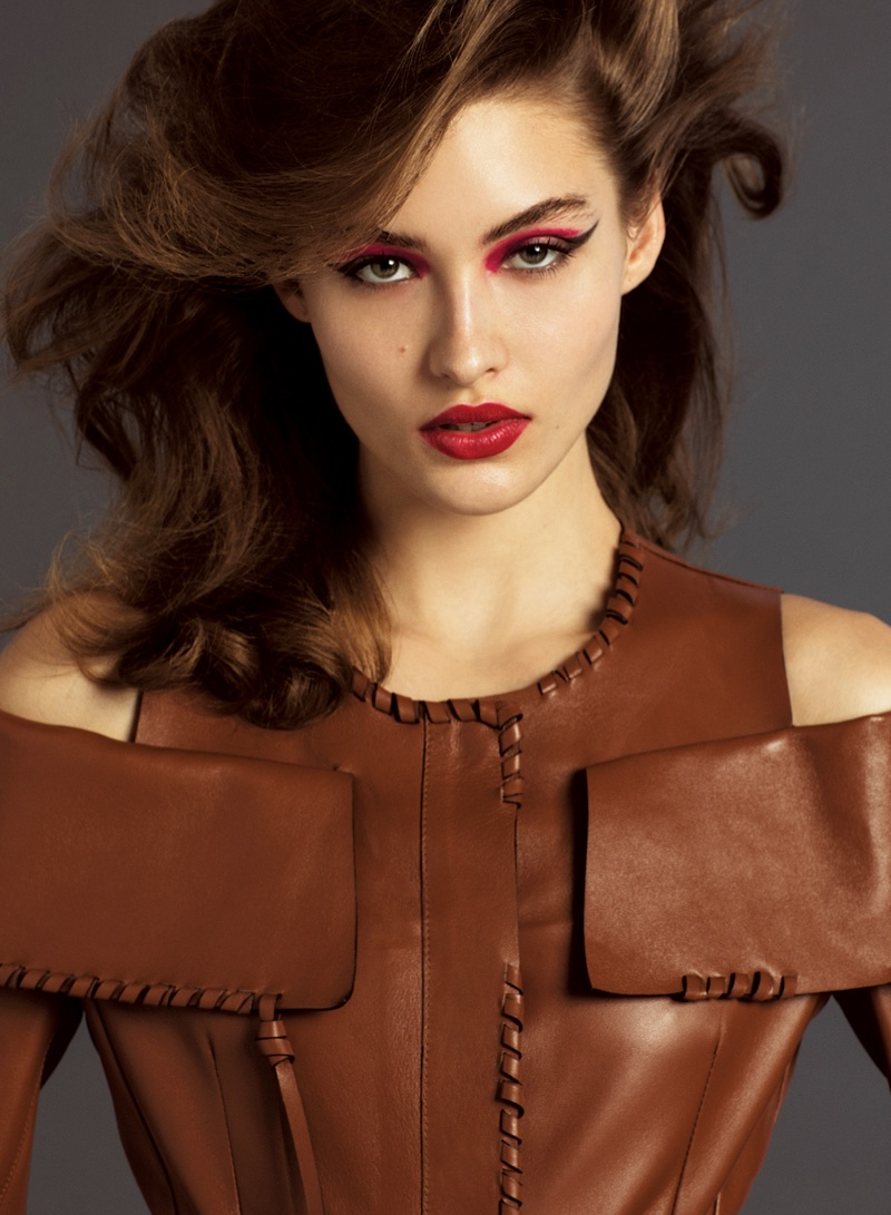 Grace Elizabeth Wears 90's Inspired Looks for V Magazine