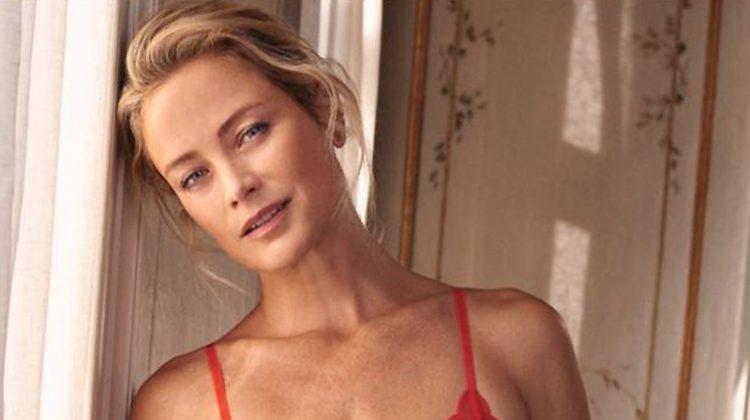 Carolyn Murphy Models H&M's Valentine's Day Lingerie