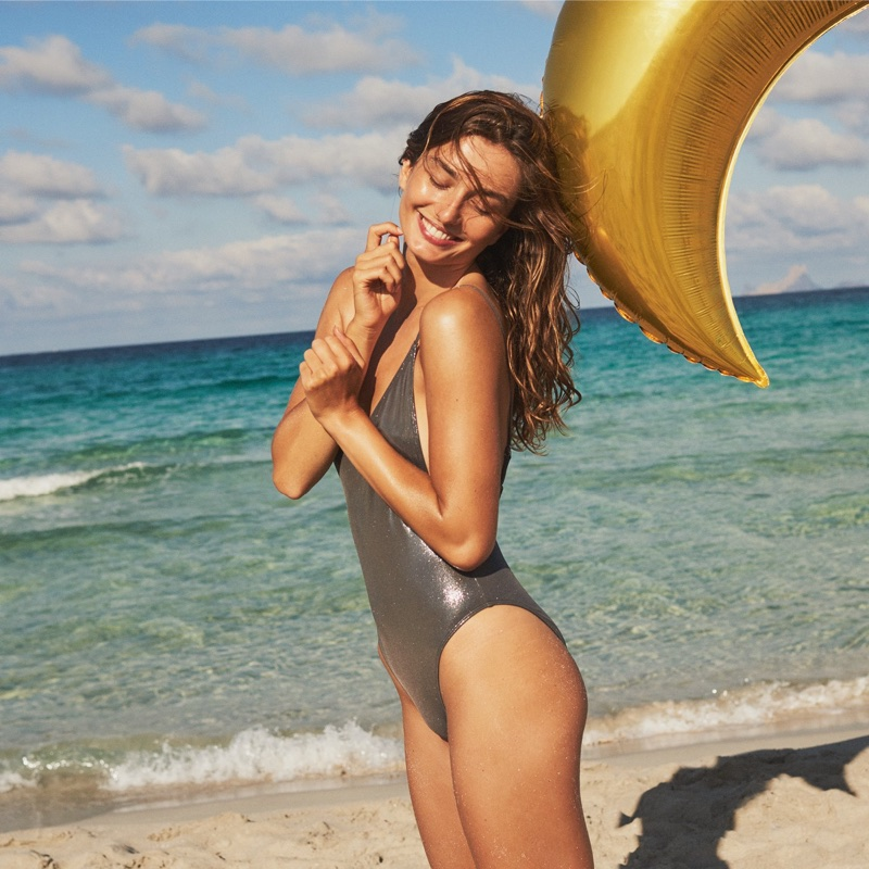 H&M High-Cut Swimsuit