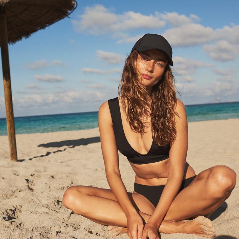 H&M Scuba-Look Bikini Top and Scuba Bikini Bottoms