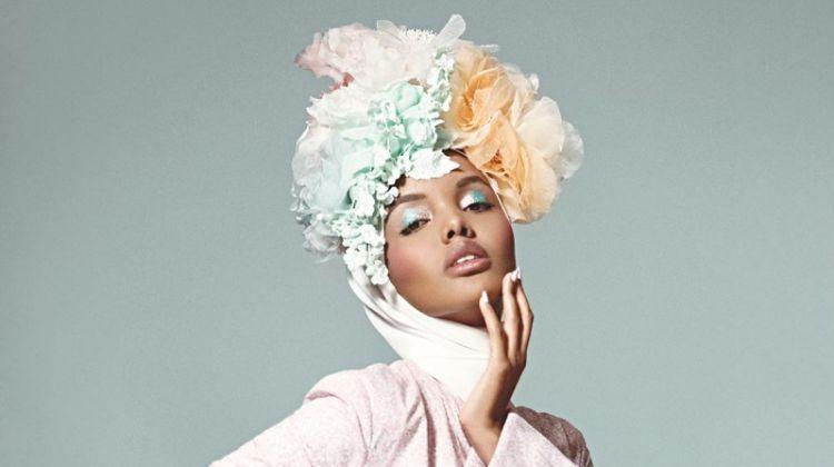 Halima Aden is in Full Bloom for S Moda