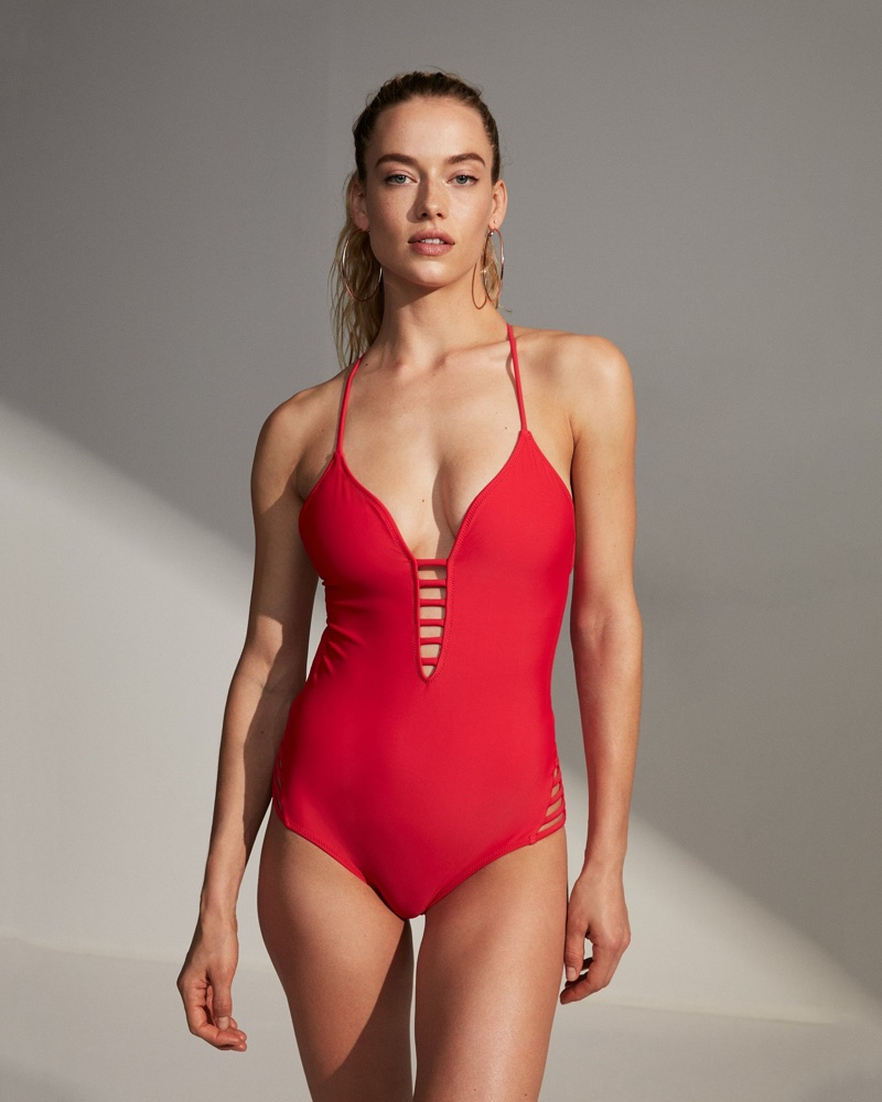 Express Strappy One-Piece Swimsuit