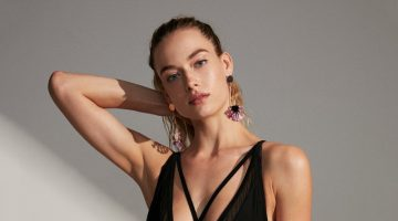 Express Strappy Plunging One-Piece Swimsuit