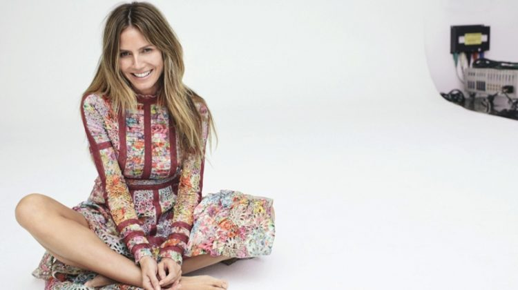 Heidi Klum is a Natural Beauty for Harper's Bazaar Germany