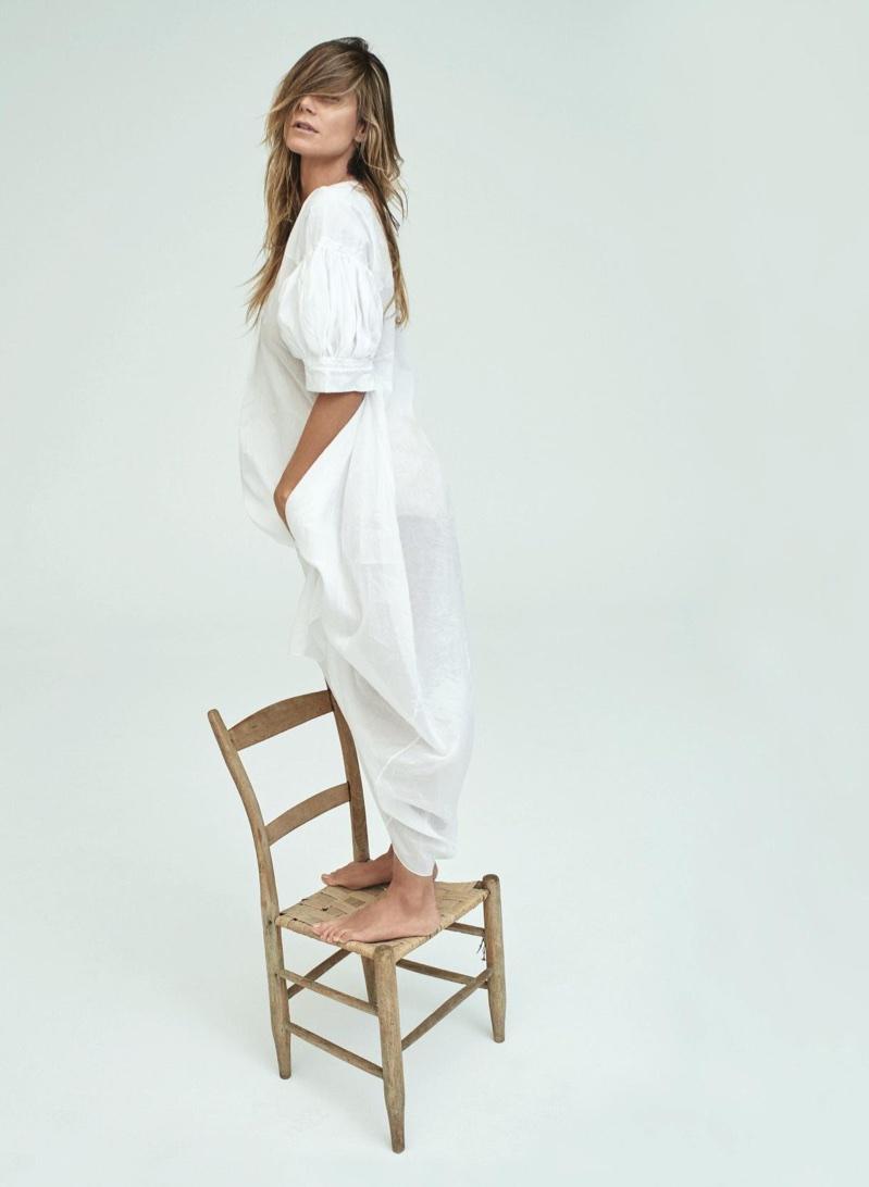 Heidi Klum is a Natural Beauty for Harper's Bazaar Germany