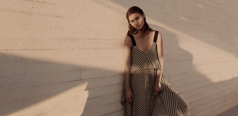 Model Grace Elizabeth fronts BOSS' spring-summer 2018 campaign