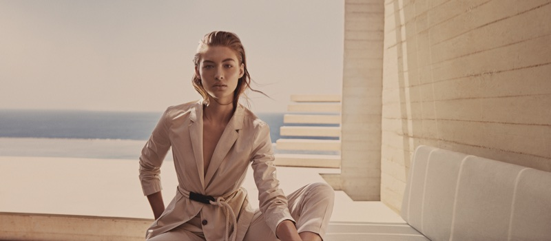 Grace Elizabeth stars in BOSS' spring-summer 2018 campaign