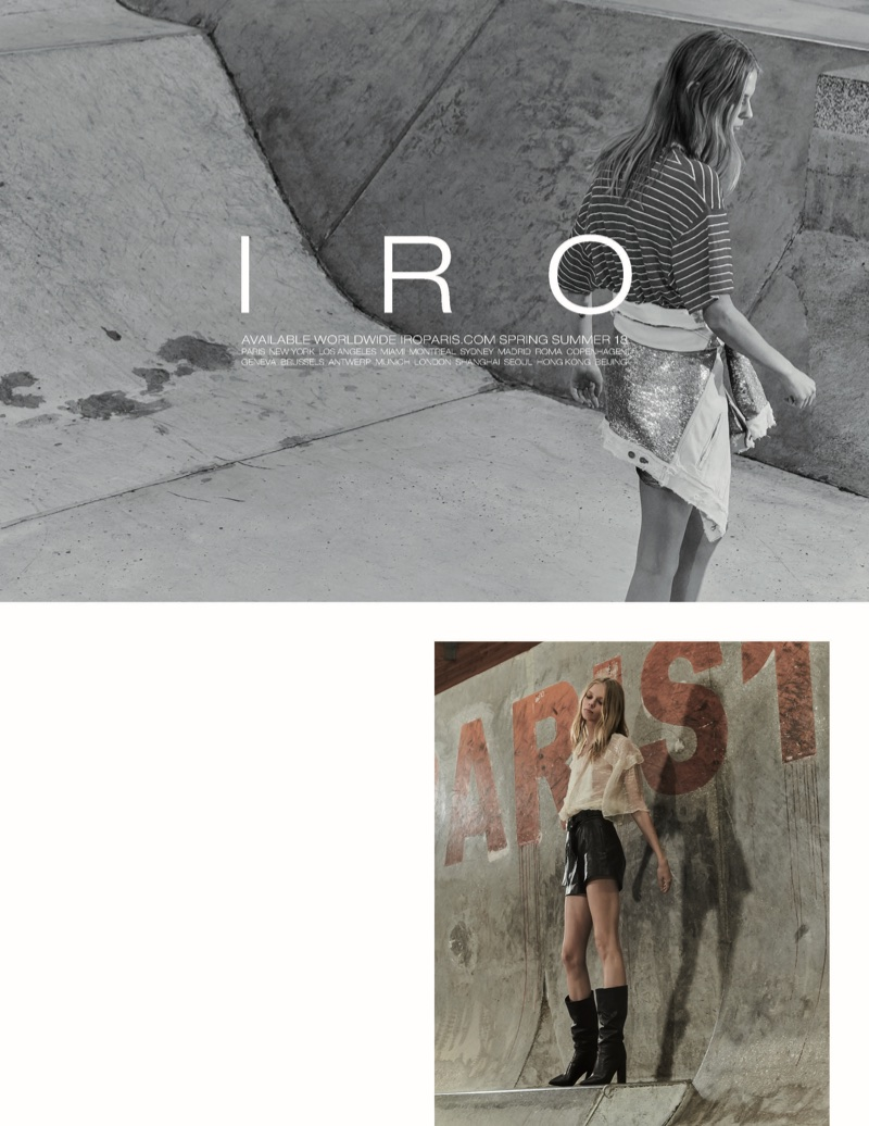 IRO releases spring-summer 2018 campaign