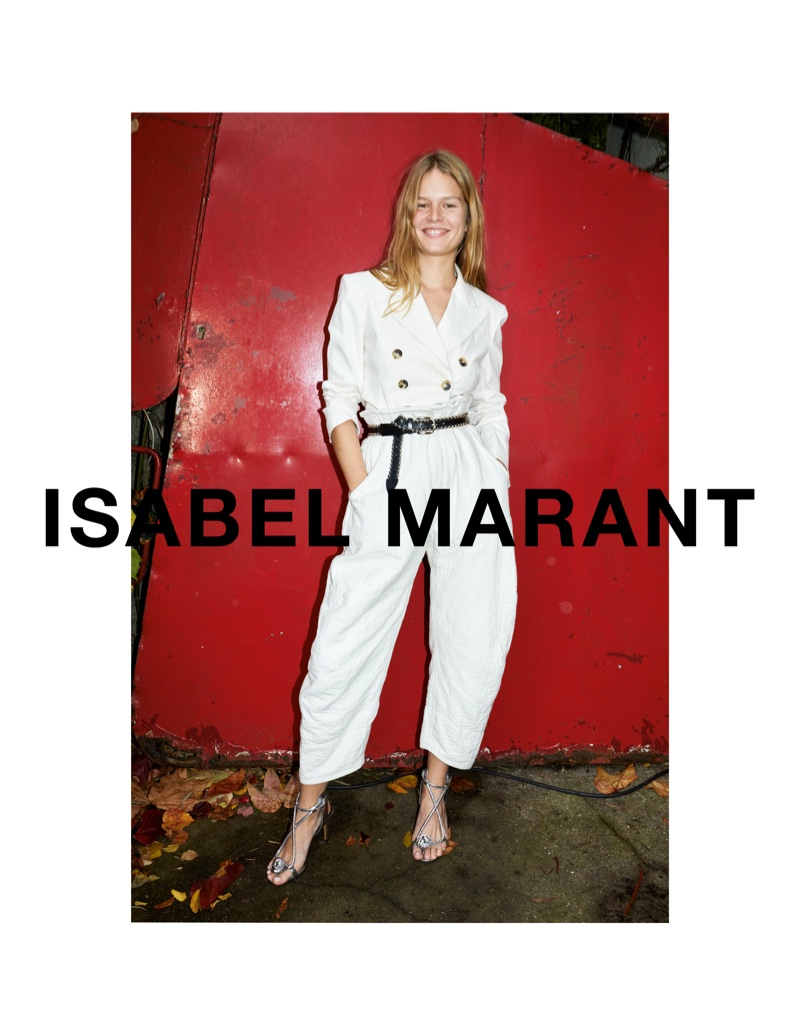Isabel Marant taps Anna Ewers for spring-summer 2018 campaign