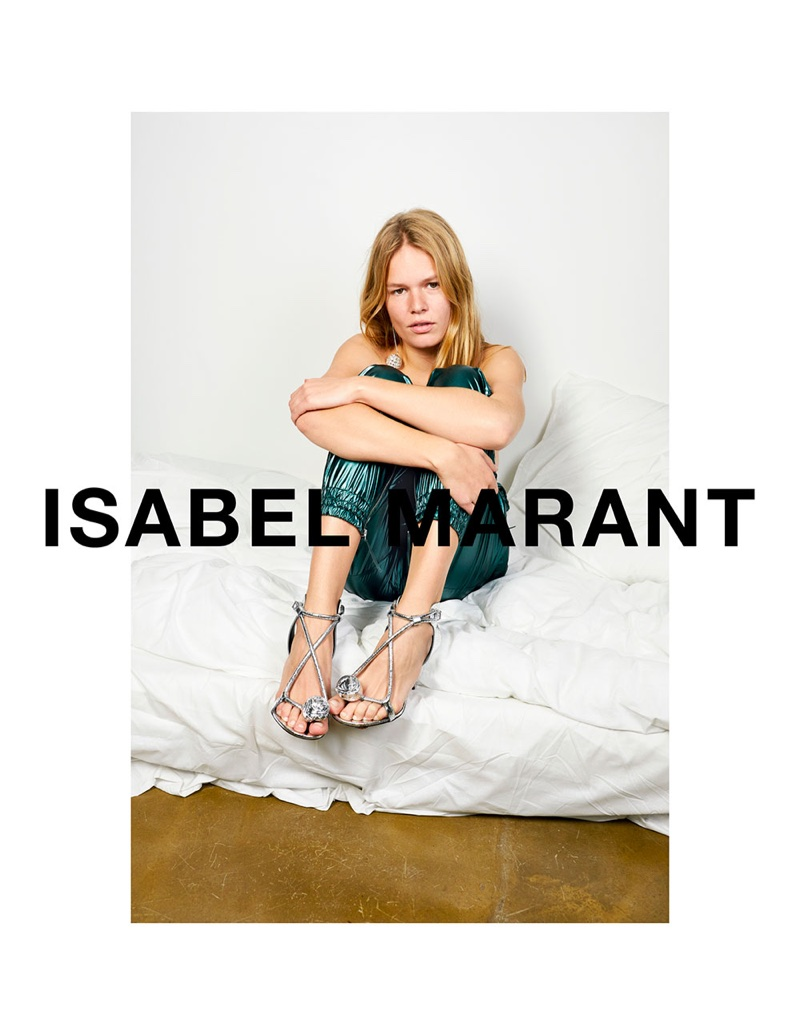 Anna Ewers fronts Isabel Marant's spring-summer 2018 campaign