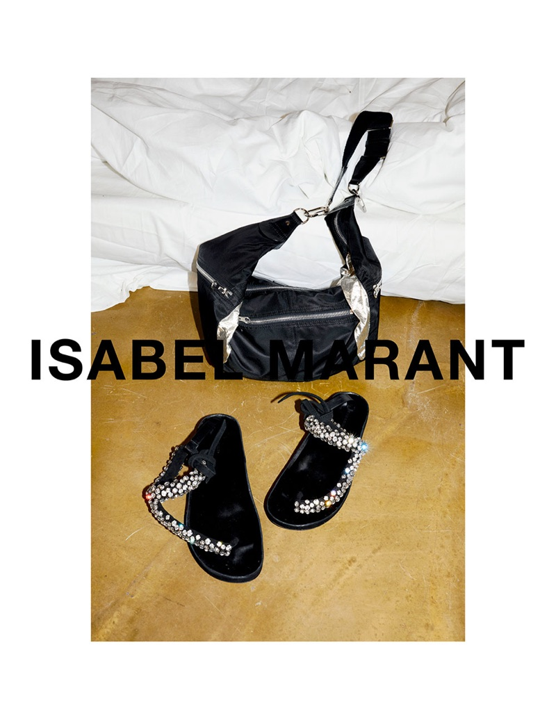 An image from Isabel Marant's spring 2018 advertising campaign
