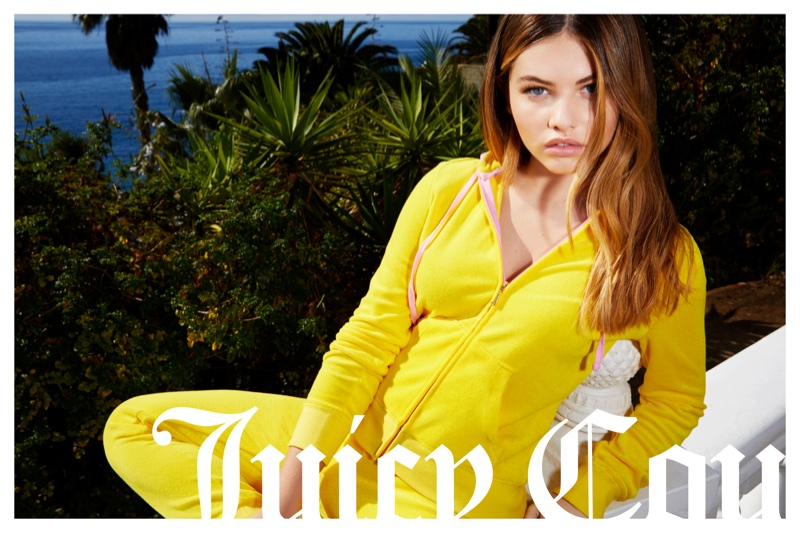 Thylane Blondeau stars in Juicy Couture's spring-summer 2018 campaign