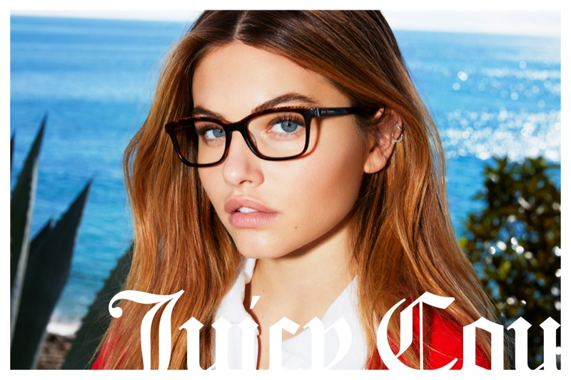 Model Thylane Blondeau fronts Juicy Couture's spring-summer 2018 campaign