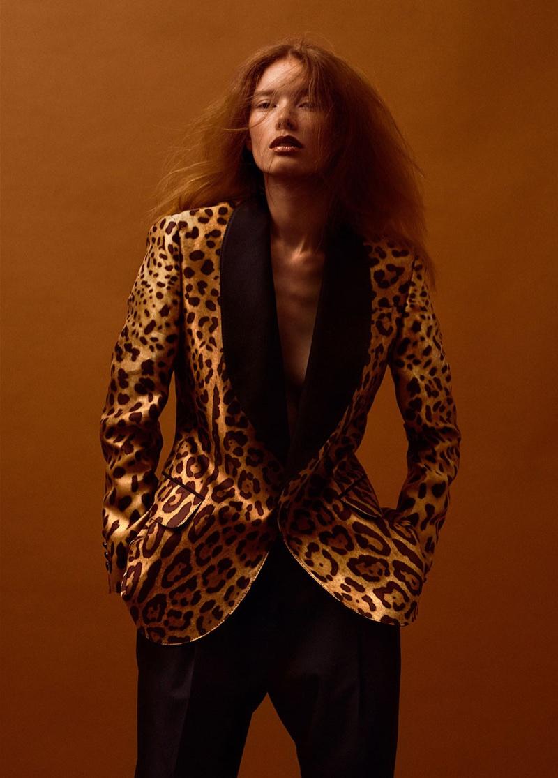 Julia Hafstrom Walks the Wild Side for Harper's Bazaar Turkey