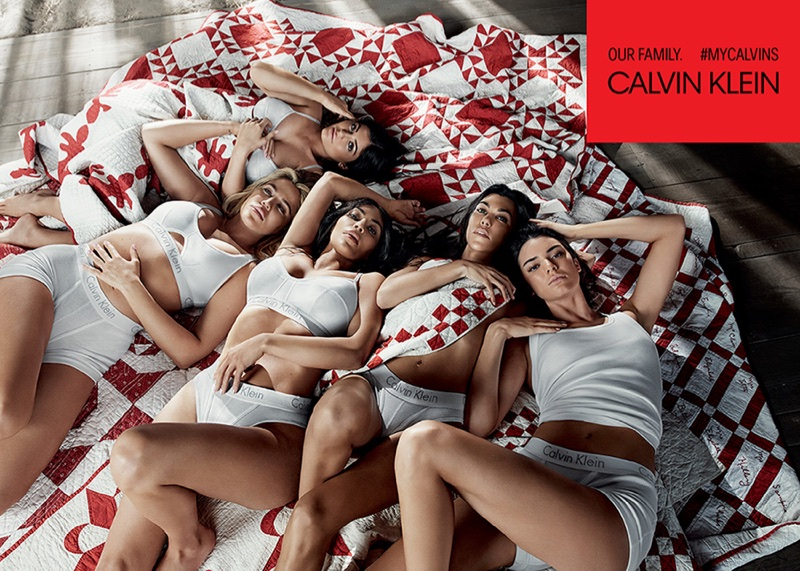 Calvin Klein taps the Kardashian and Jenner sisters for #MyCalvins campaign