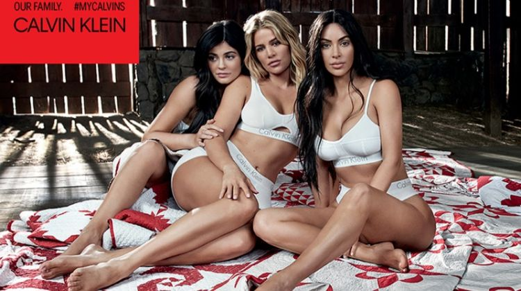 The Kardashian & Jenner Sisters Front Calvin Klein's #MyCalvins Campaign