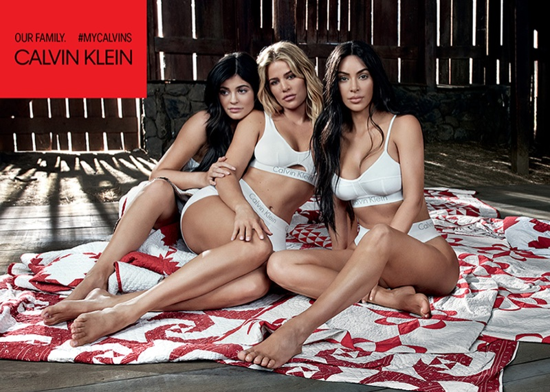 Kylie, Khloe and Kim Kardashian front Calvin Klein #MyCalvins campaign