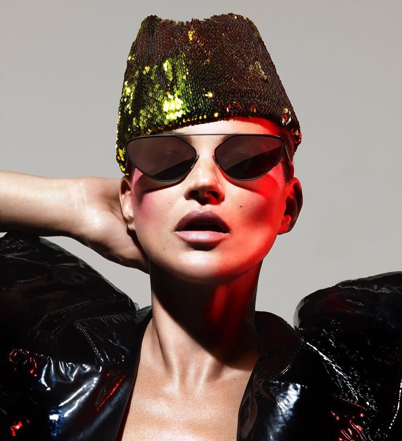 Kate Moss stars in Alain Mikli x Alexandre Vauthier sunglasses campaign