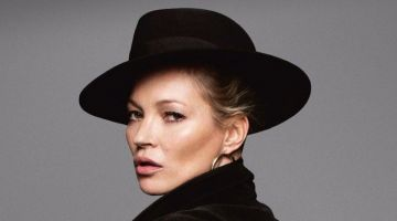 Kate Moss Wears Vintage Fashions for The Guardian