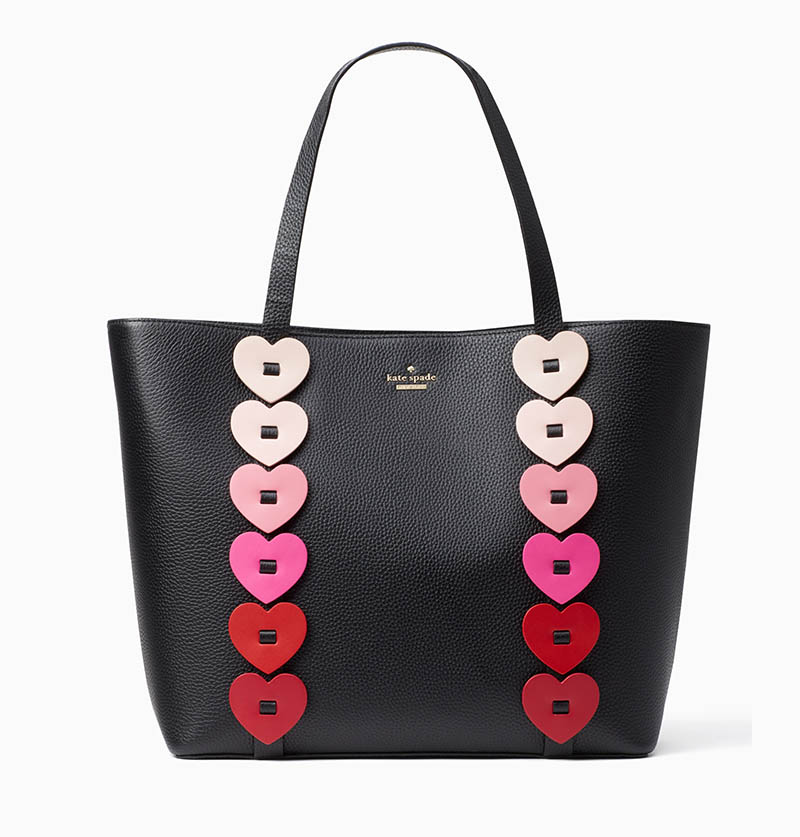 Kate Spade Yours Truly Ombre Heart Tote Bag $328