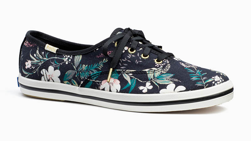 Keds x Kate Spade Champion Sneakers in Floral Print $75