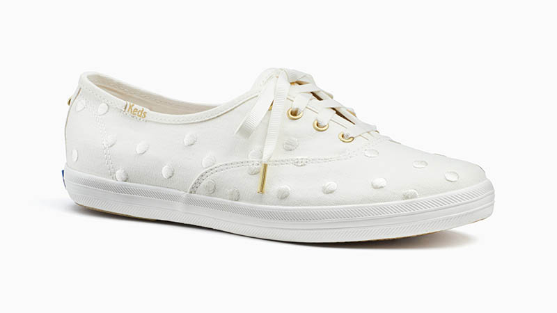 Keds x Kate Spade Champion Sneakers in White $80