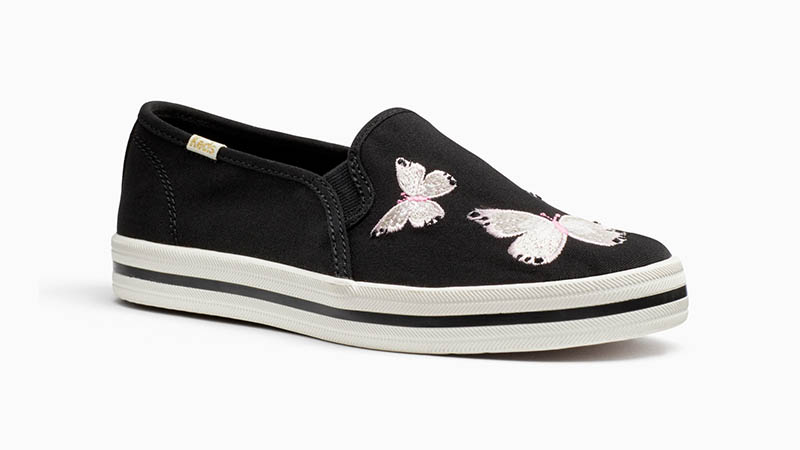 Keds x Kate Spade Double Decker Sneakers with Butterflies $85