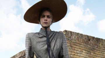Kim Noorda is a 'Mad Hatter' for L'Officiel Netherlands