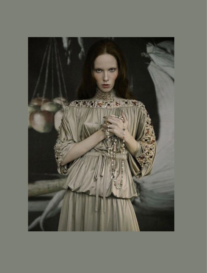 Lara Ross Looks Dreamy in Chanel for L'Officiel Vietnam