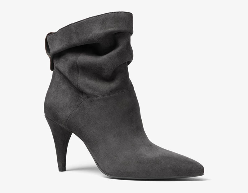 MICHAEL Michael Kors Carey Suede Ankle Boot in Charcoal $95 (previously $175)