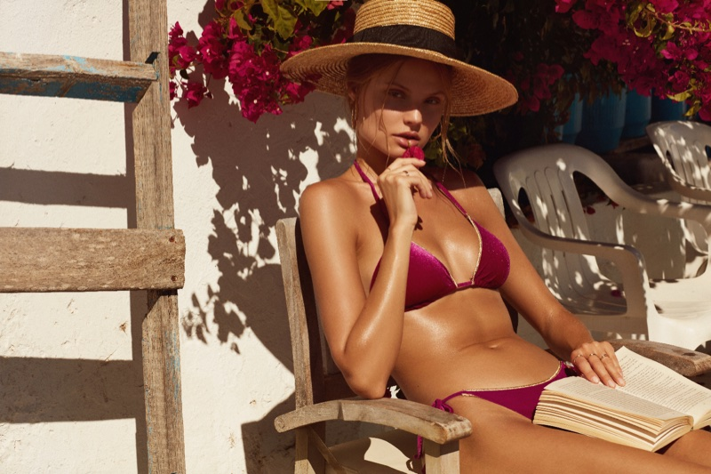 Bikini Lovers taps Magdalena Frackowiak for spring-summer 2018 campaign