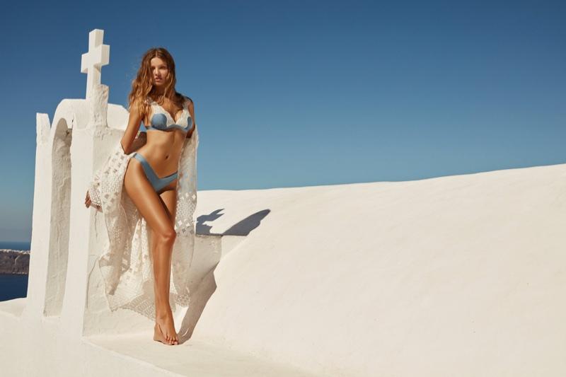 Magdalena Frackowiak stars in Bikini Lovers' spring-summer 2018 campaign