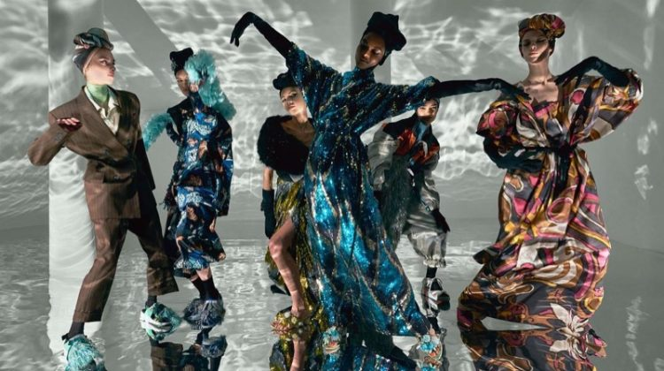 Colorful prints take the spotlight in Marc Jacobs' spring-summer 2018 campaign