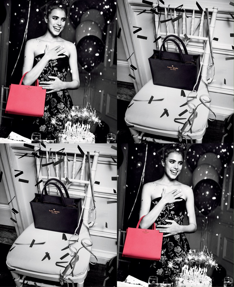 An image from Kate Spade's spring 2018 advertising campaign
