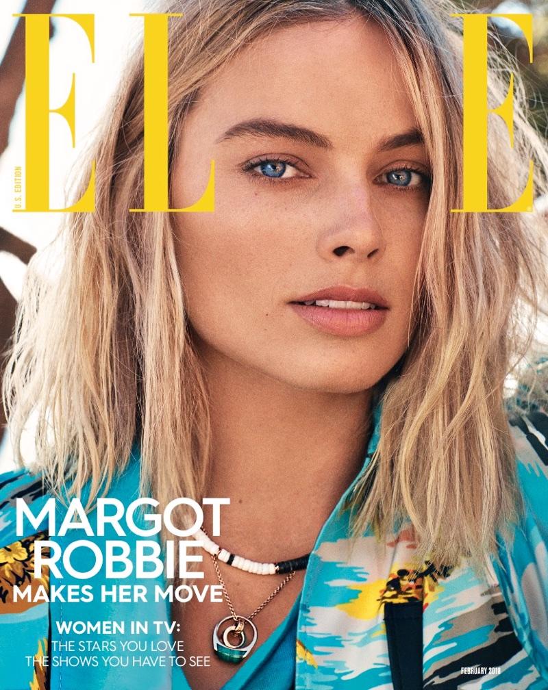 Margot Robbie on ELLE US February 2018 Cover