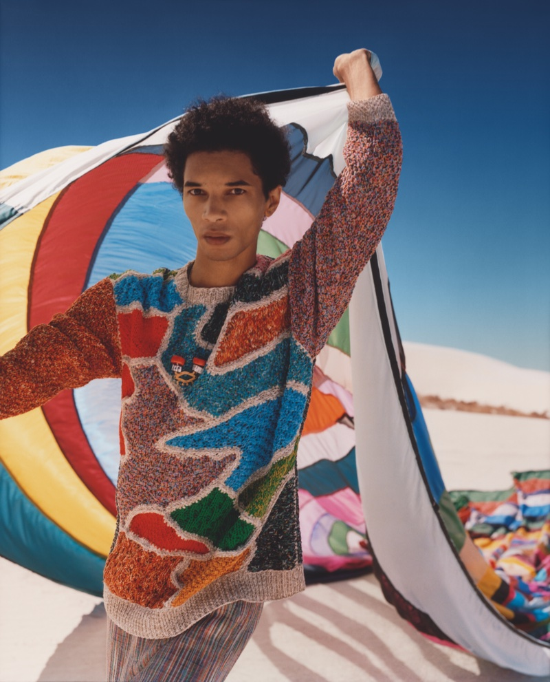 Missoni enlists Filip Roseen for its spring-summer 2018 campaign