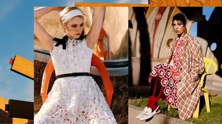 Elle Fanning, Edie Campbell Go to Arizona for Miu Miu's Spring 2018 Campaign