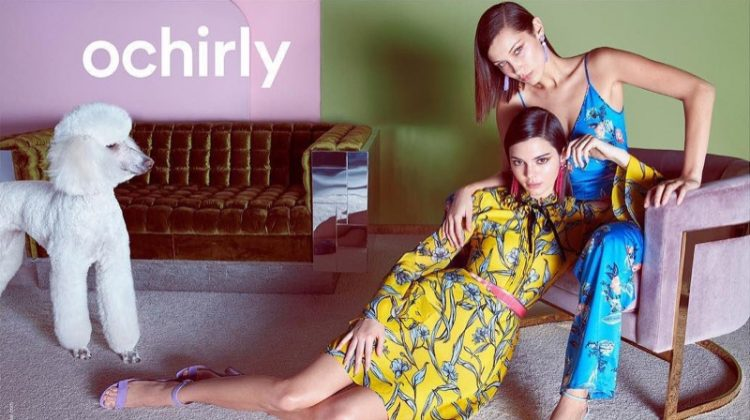 Ochirly taps Bella Hadid and Kendall Jenner for spring-summer 2018 campaign