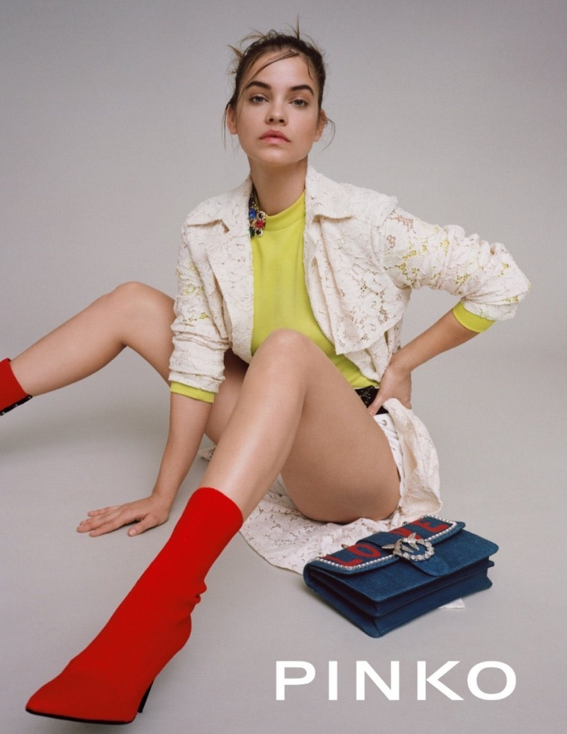 Pinko unveils spring-summer 2018 campaign with Barbara Palvin