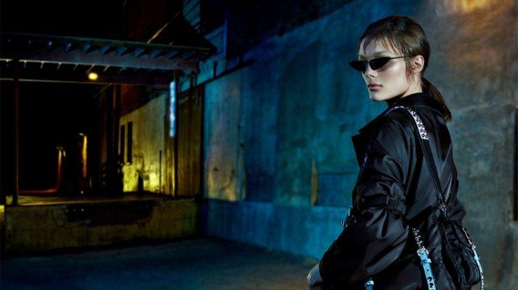 Prada Takes the Night for Spring 2018 Campaign