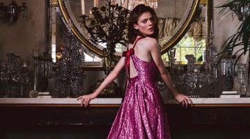 Rose Leslie Poses in Fabulous Fashions for Watch! Magazine