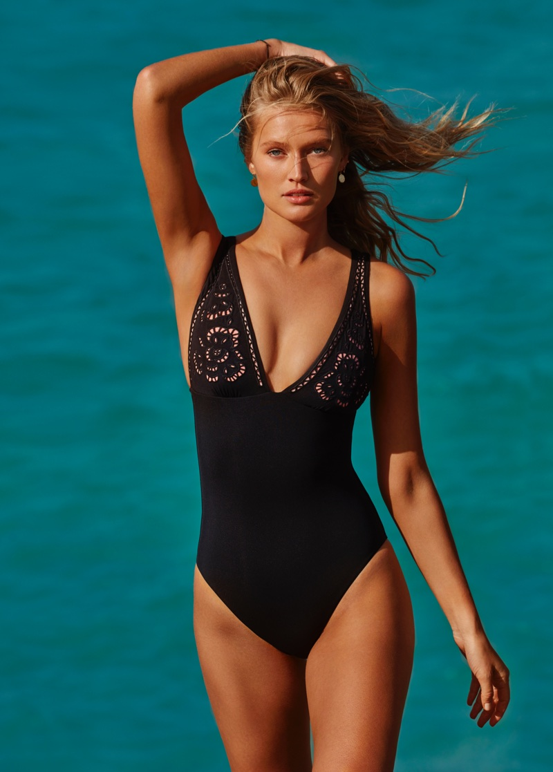 Toni Garrn stars in Seafolly summer 2018 swimwear campaign