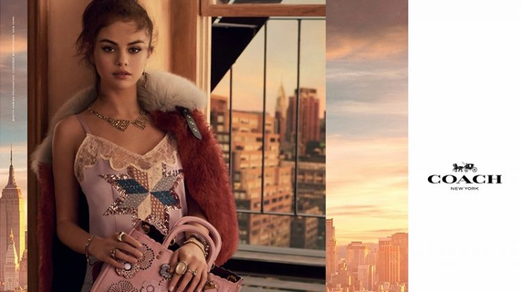 Coach taps Selena Gomez for its spring-summer 2018 handbag campaign